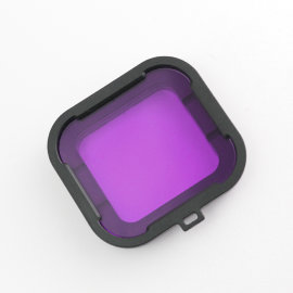 MSCAM Purple Light Filter for GoPro HERO4, HERO3+