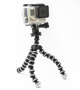 Тренога SJCAM Hand Grip Flexible Lightweight GorillaPod Small (c рамкой для телефона)