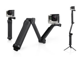 Монопод MSCAM 3-Way Monopod Black