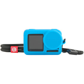 Силиконовый чехол Pgytech Rubber Skin for DJI Osmo Action Blue (P-11B-014)