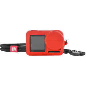 Силиконовый чехол Pgytech Rubber Skin for DJI Osmo Action Red (P-11B-013)