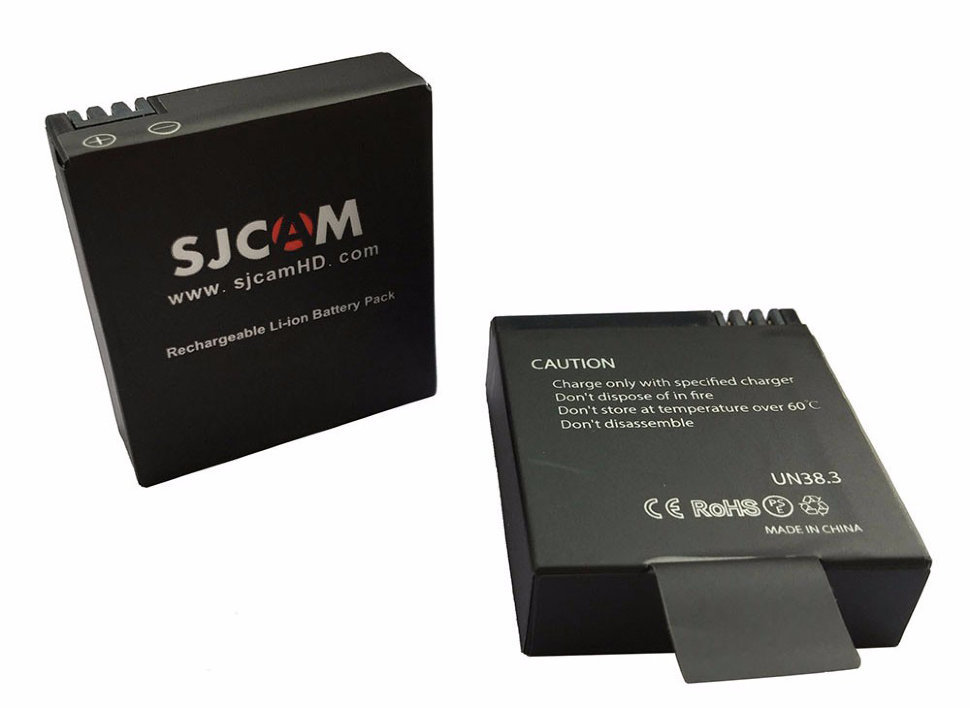 Набор SJCAM Batteries with Dual-slot Charger for SJ8