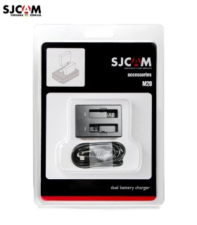 Двойное зарядное SJCAM Dual-slot Battery Charger for M20