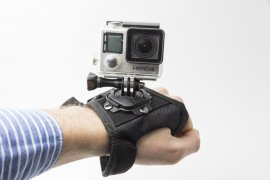 Крепление на запястье SJCAM Thumb Wrist Band Black For GoPro, SJCAM