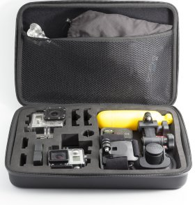 Кейс MSCAM Carbon Fiber Carry Bag for GoPro, Extra Large (MS-CFCB-XL)