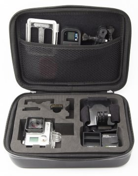 Кейс MSCAM Carbon Fiber Carry Bag for GoPro, Large (MS-CFCB-L)