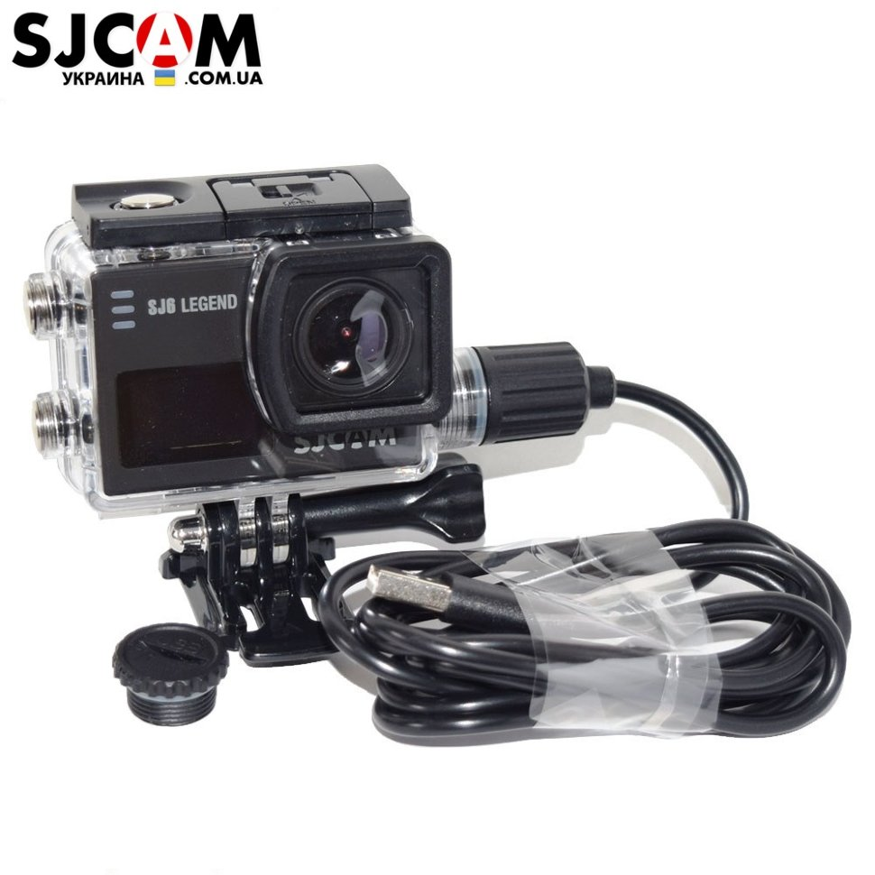 Защитный корпус SJCAM Waterproof Housing with Charger for SJ6